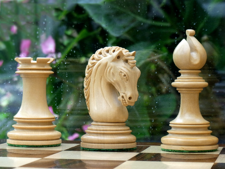 Limited Edition - The Ezekiel Chess Pieces in Ebony