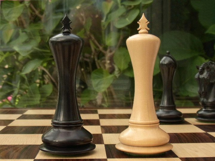 Limited Edition - The Socrates Chess Set in Ebony