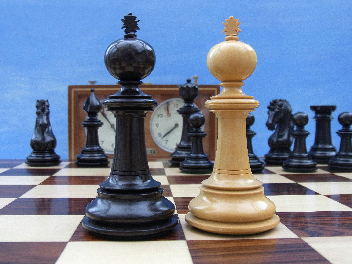 Limited Edition - The Kerningham Chess Set in Ebony