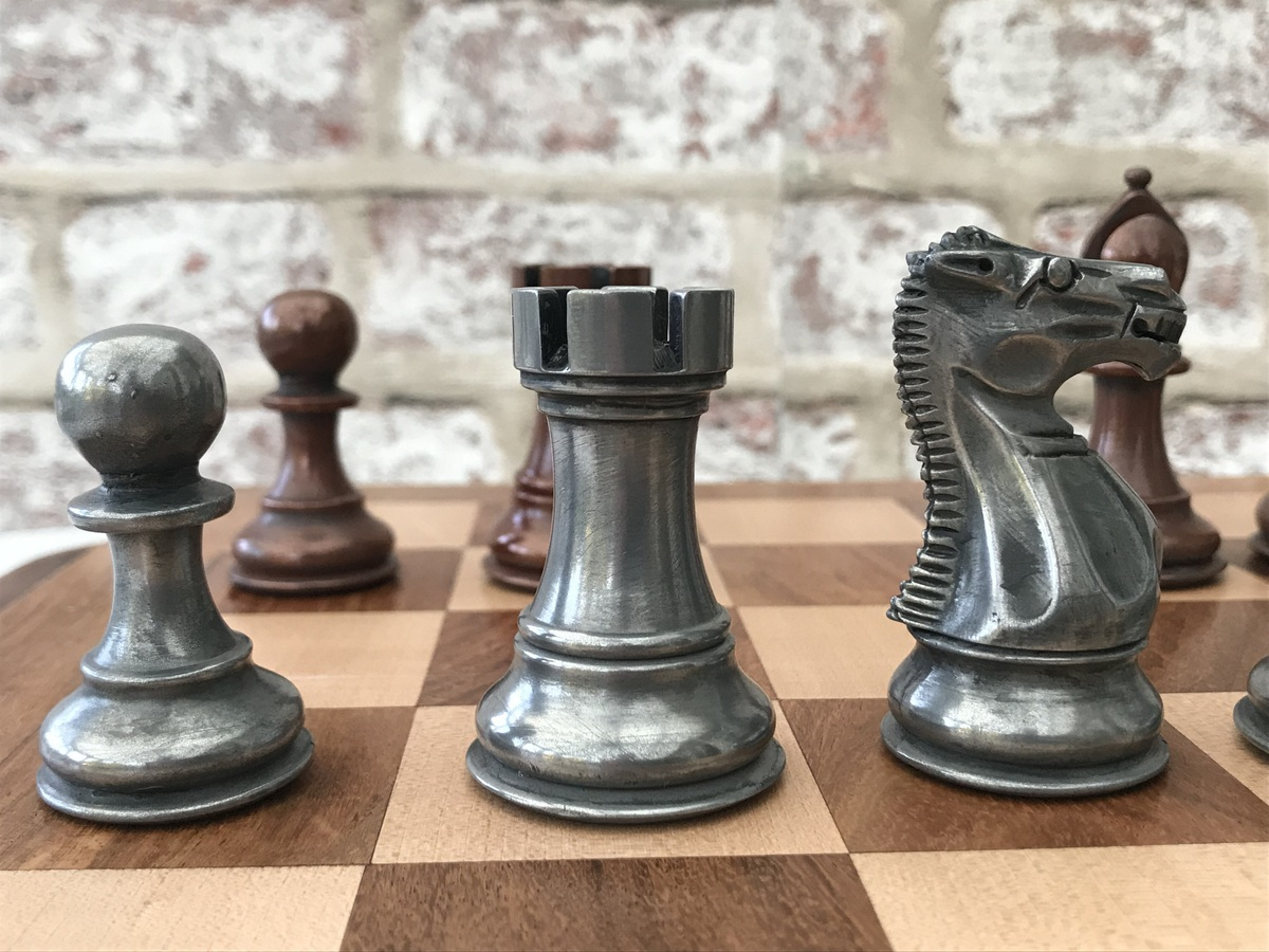 Berkeley Chess Ltd - The King Alfred - Triple Weighted Copper and Aluminium Finish