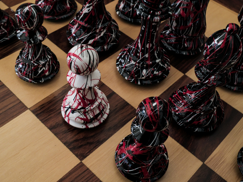The Artist - Limited Edition Triple Weighted Chess Set - 20 Made