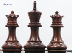 Margaret Anne Knight Staunton 3 inch King - Bud Rosewood Chess Pieces