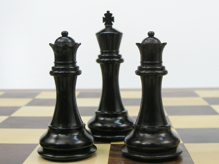 Sinead Staunton in Ebony Chess Pieces
