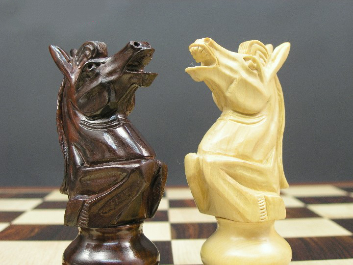 Baron Ultimate Staunton in Bud Rosewood Chess Pieces