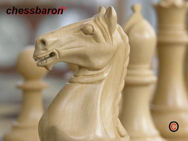 Sinead Staunton Chess Pieces in Bud Rosewood