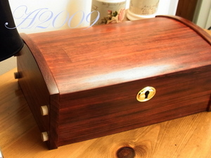 Bud Rosewood Luxury Jewellery Box 27x11cm